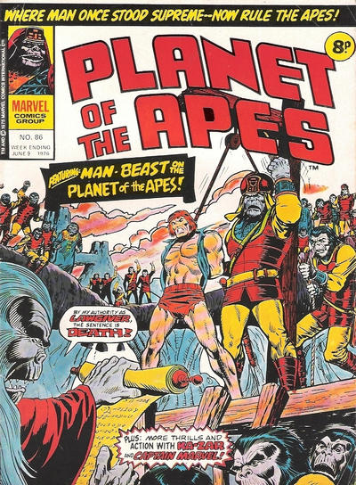 Cover for Planet of the Apes (1974 series) #86