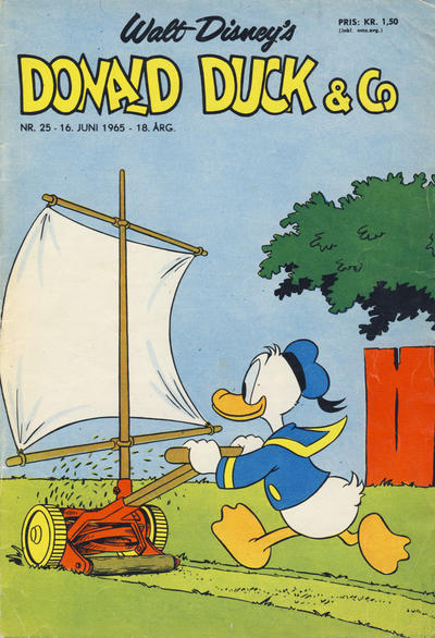 Cover for Donald Duck & Co (Hjemmet, 1948 series) #25/1965