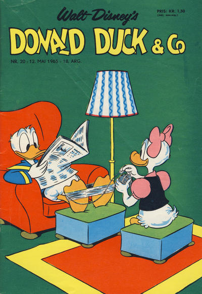 Cover for Donald Duck & Co (Hjemmet, 1948 series) #20/1965