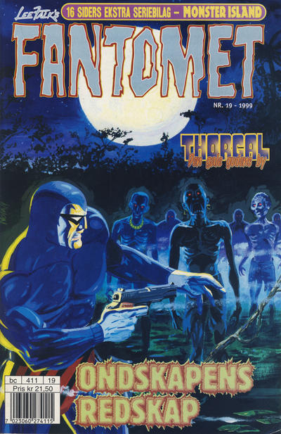 Cover for Fantomet (Egmont Serieforlaget, 1998 series) #19/1999