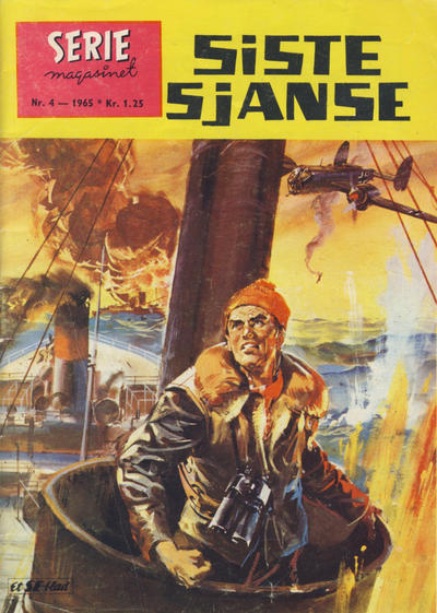 Cover for Seriemagasinet (Serieforlaget / Se-Bladene / Stabenfeldt, 1951 series) #4/1965
