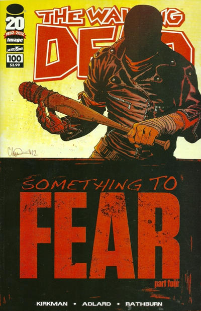Cover for The Walking Dead (2003 series) #100 [Cover B]