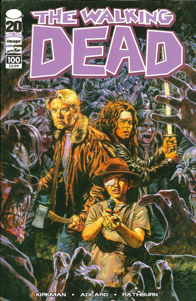 Cover for The Walking Dead (2003 series) #100 [Cover D]