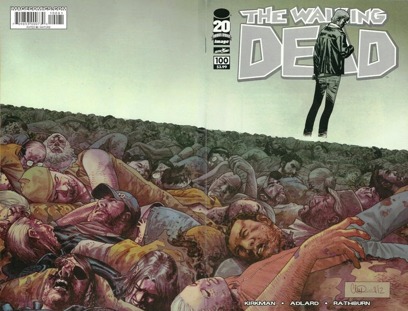 Cover for The Walking Dead (2003 series) #100 [Cover H]