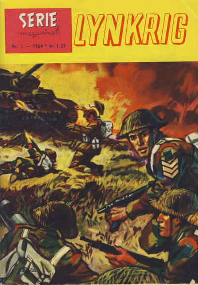 Cover for Seriemagasinet (Se-Bladene - Stabenfeldt, 1951 series) #2/1964