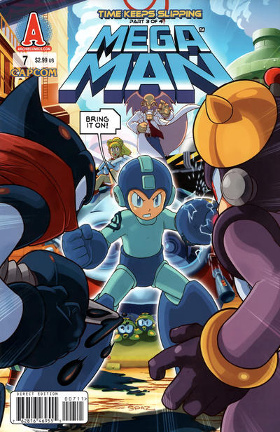 Cover for Mega Man (Archie, 2011 series) #7