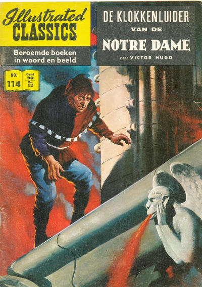 Cover for Illustrated Classics (Classics/Williams, 1956 series) #114 - De klokkenluider van de Notre Dame [HRN 152]