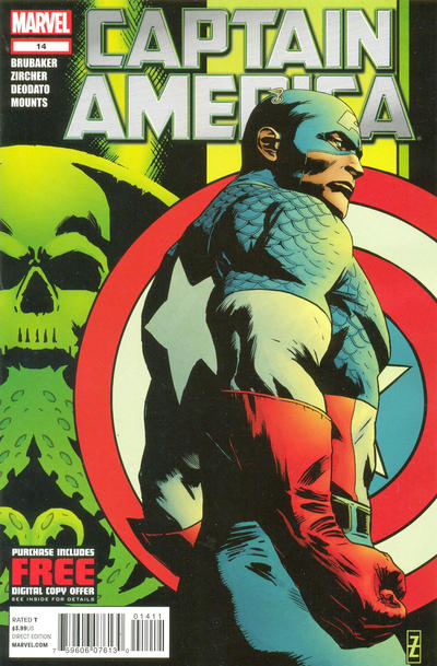 Cover for Captain America (Marvel, 2011 series) #14
