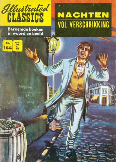 Cover for Illustrated Classics (Classics/Williams, 1956 series) #144 - Nachten vol verschrikking