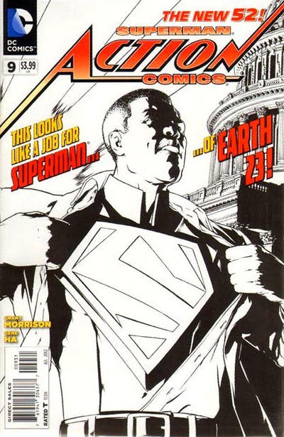 Cover for Action Comics (DC, 2011 series) #9