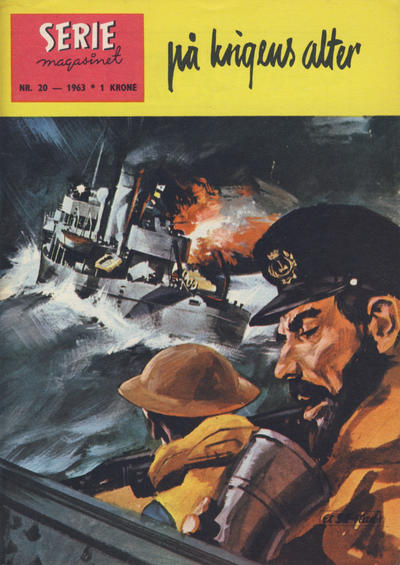 Cover for Seriemagasinet (Se-Bladene - Stabenfeldt, 1951 series) #20/1963