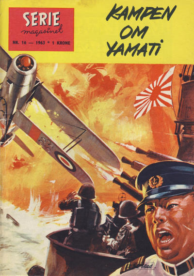 Cover for Seriemagasinet (Se-Bladene, 1955 series) #16/1963