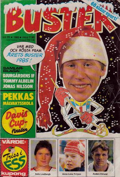 Cover for Buster (Semic, 1970 series) #26/1985