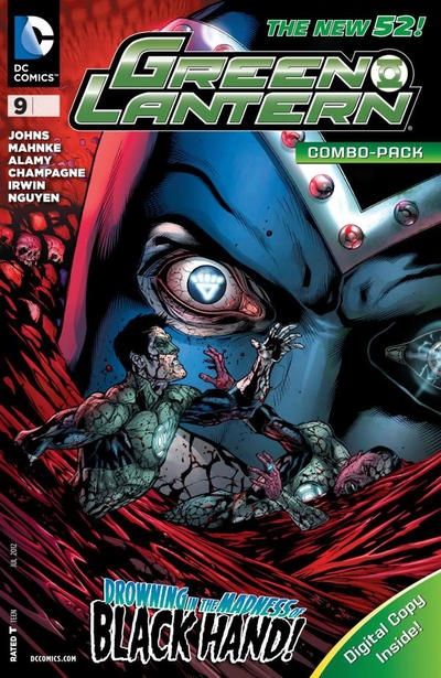 Cover for Green Lantern (DC, 2011 series) #9 [Doug Mahnke Cover]