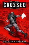 Cover Thumbnail for Crossed Badlands (2012 series) #8 [Red Crossed Variant Cover by Jacen Burrows]