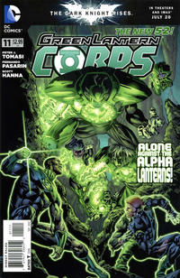 Cover Thumbnail for Green Lantern Corps (DC, 2011 series) #11