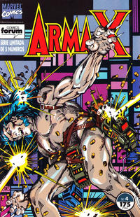 Cover Thumbnail for Arma-X (Planeta DeAgostini, 1992 series) #4
