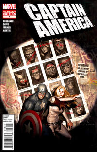 Cover for Captain America (2011 series) #6