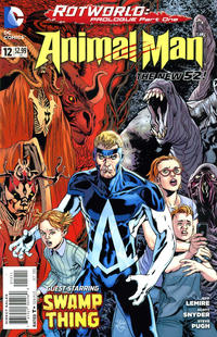 Cover Thumbnail for Animal Man (DC, 2011 series) #12