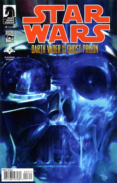 Cover for Star Wars: Darth Vader and the Ghost Prison (Dark Horse, 2012 series) #3