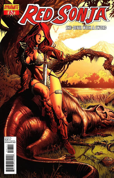 Cover for Red Sonja (Dynamite Entertainment, 2005 series) #67 [Cover B Jack Herbert]
