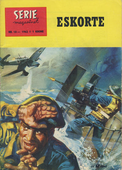 Cover for Seriemagasinet (Se-Bladene, 1955 series) #10/1962