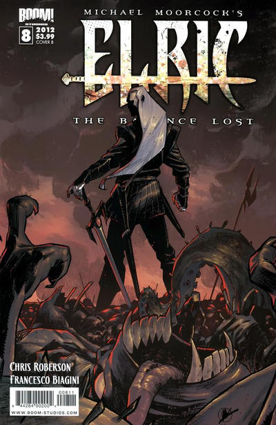 Cover for Elric:  The Balance Lost (2011 series) #8