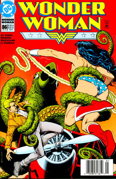Cover for Wonder Woman (DC, 1987 series) #86 [DC Universe Corner Box]