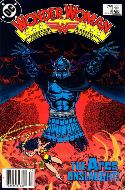 Cover for Wonder Woman (DC, 1987 series) #6 [newsstand]