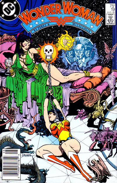 Cover for Wonder Woman (1987 series) #19