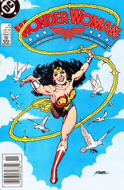 Cover for Wonder Woman (DC, 1987 series) #22 [newsstand]