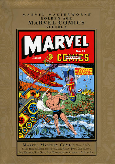 Cover for Marvel Masterworks: Golden Age Marvel Comics (Marvel, 2004 series) #6 [Regular Edition]