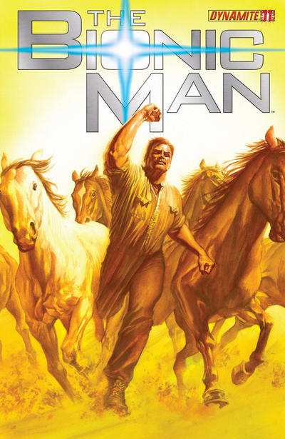 Cover for Bionic Man (Dynamite Entertainment, 2011 series) #11