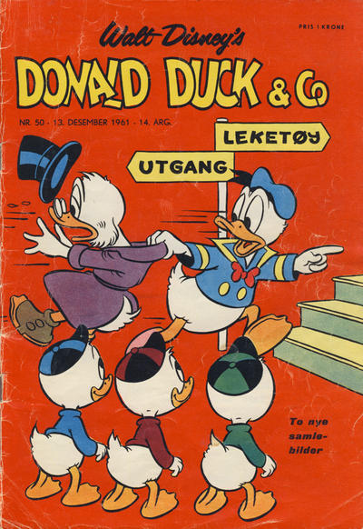 Cover for Donald Duck & Co (Hjemmet, 1948 series) #50/1961