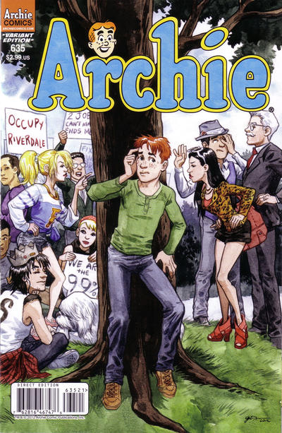 Cover for Archie (Archie, 1959 series) #635