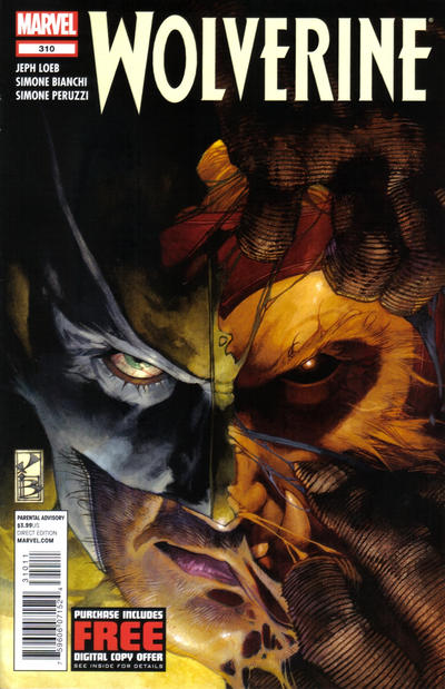 Cover for Wolverine (Marvel, 2010 series) #310