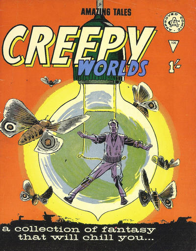 Cover for Creepy Worlds (Alan Class, 1962 series) #106