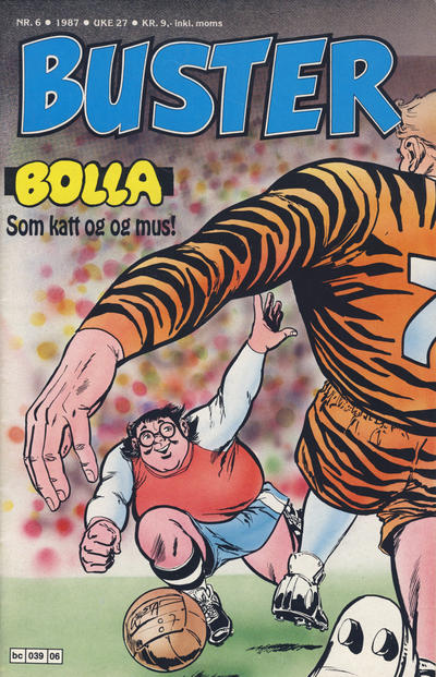 Cover for Buster (Semic, 1984 series) #6/1987