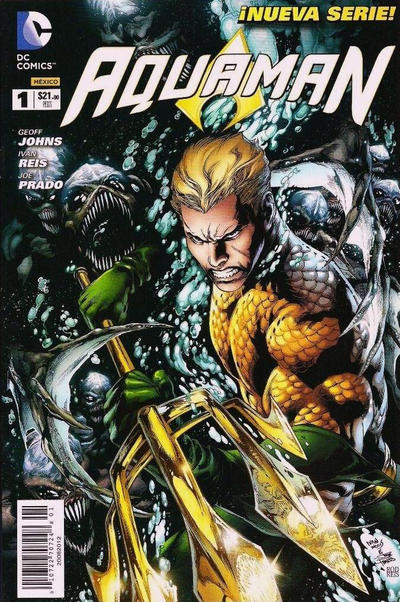 Cover for Aquaman (Editorial Televisa, 2012 series) #1
