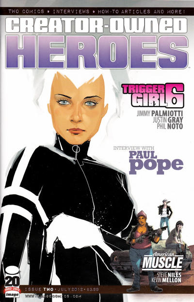 Cover for Creator-Owned Heroes (2012 series) #2