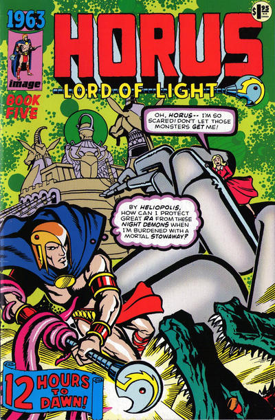 Cover for 1963: Horus, Lord of Light (Hero Premiere Edition) (1993 series) #[nn]