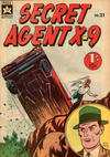 Cover for Secret Agent X9 (Yaffa / Page, 1963 series) #21