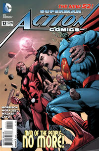 Cover Thumbnail for Action Comics (DC, 2011 series) #12 [Rags Morales Cover]