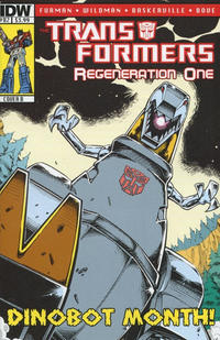 Cover Thumbnail for Transformers: Regeneration One (IDW, 2012 series) #82 [Cover B - Guido Guidi]