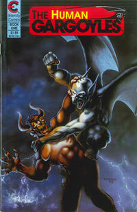 Cover Thumbnail for The Human Gargoyles (Malibu, 1988 series) #1
