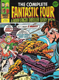 Cover Thumbnail for The Complete Fantastic Four (Marvel UK, 1977 series) #9