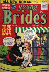 Cover Thumbnail for Young Brides (Prize, 1952 series) #v4#3 (27)