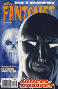 Cover Thumbnail for Fantomet (Egmont Serieforlaget, 1998 series) #23/2001