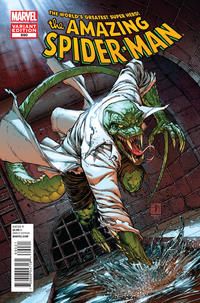Cover Thumbnail for The Amazing Spider-Man (Marvel, 1999 series) #690 [Lizard Variant]