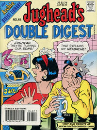 Cover Thumbnail for Jughead's Double Digest (Archie, 1989 series) #48 [Direct Edition]